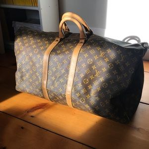 Authentic Louis Vuitton French Co. Keepall
